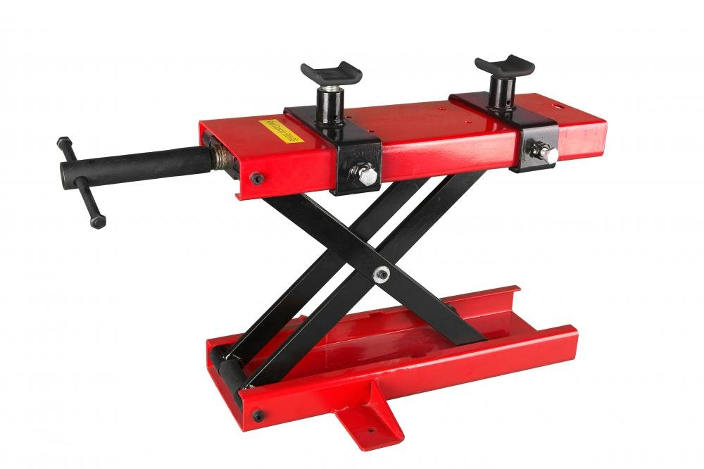Motorcycle Scissor Jack 1100 LB Mini Scissor Lift Jack ATV Dirt Bike Scooter Crank Stand