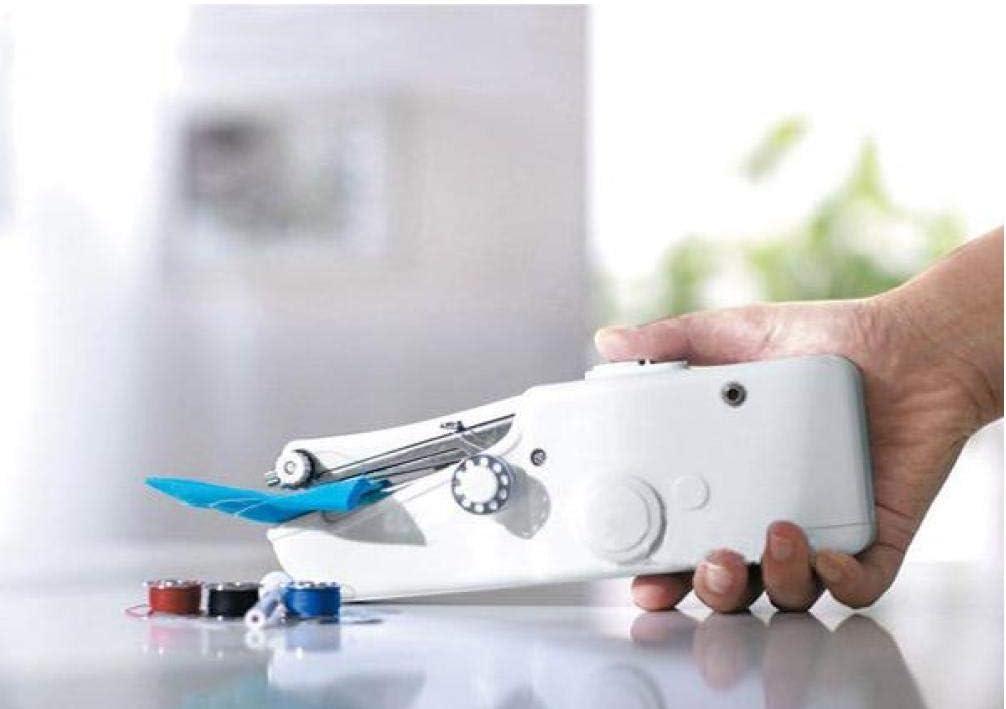 PiniceCore Mini Machines /à Coudre portatives /à Main Stitch Cousez v/êtements Couture sans Fil Tissus /électrique Machine /à Coudre Set Point