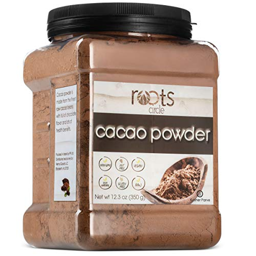 Polvo de cacao crudo de Roots Circle, deliciosos granos de ...