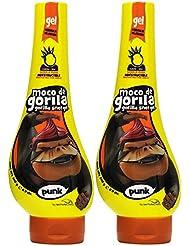 Moco de Gorila Estilo Punk Extreme Hold Gel, 11.9 Ounce (Pack of 2)