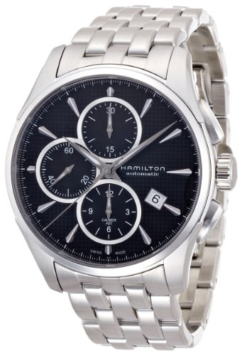 Hamilton Jazzmaster Chronograph Automatic Black Dial Mens Watch H32596131