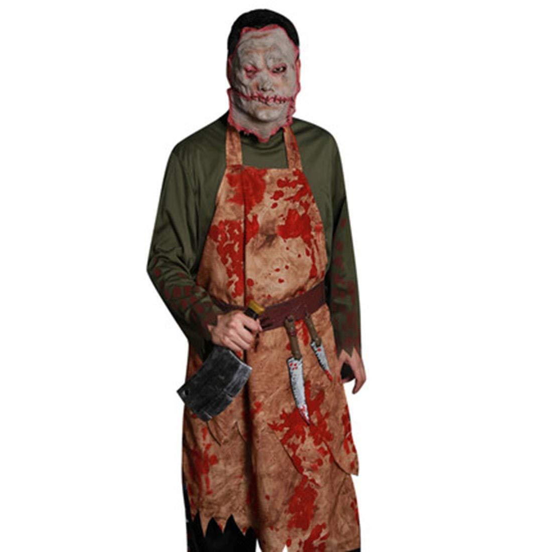 Sasa Halloween Geist Festival Bar Party Show Blutige Chef Erwachsene Herrenbekleidung