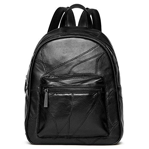 Shoulder Bag Fashion Handbag Black Pu Student