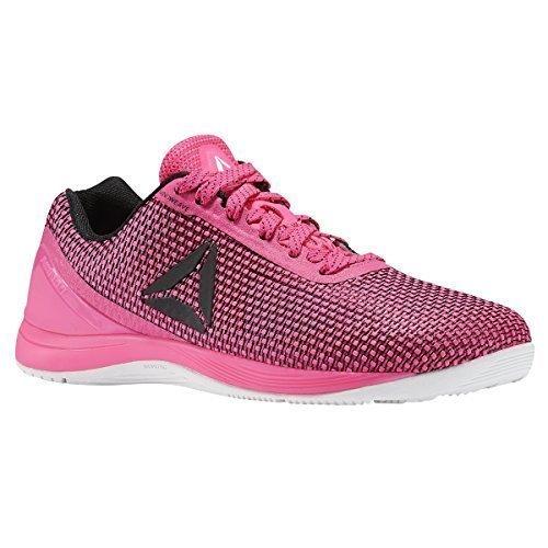 Reebok Women's R Crossfit Nano 7.0 Sneaker, Women's Poison Pink/Black/White, 8 M US
