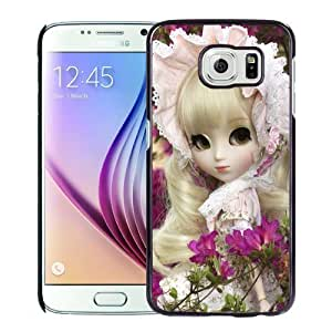 New Personalized Custom Designed For Samsung Galaxy S6 Phone Case For Cute Doll Girl Phone Case Cover