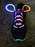 Rainbow multi-color Led fashion Flashing Shoelaces Picture