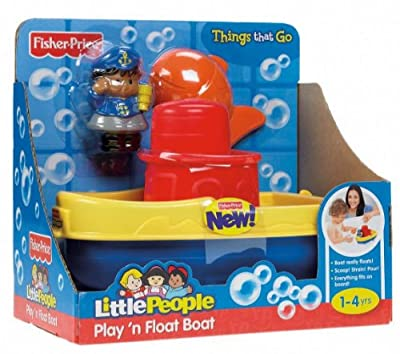 Fisher-price Little People Play N Float Bath Boat by Fisher-Price