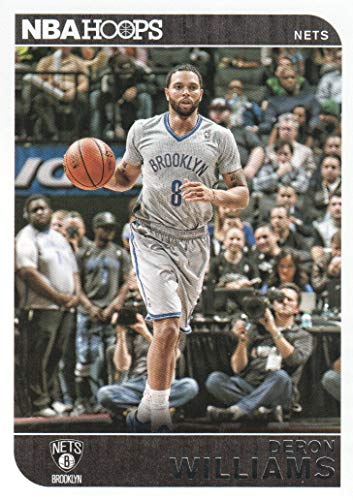 (2014-15 NBA Hoops Basketball #3 Deron Williams Brooklyn Nets )