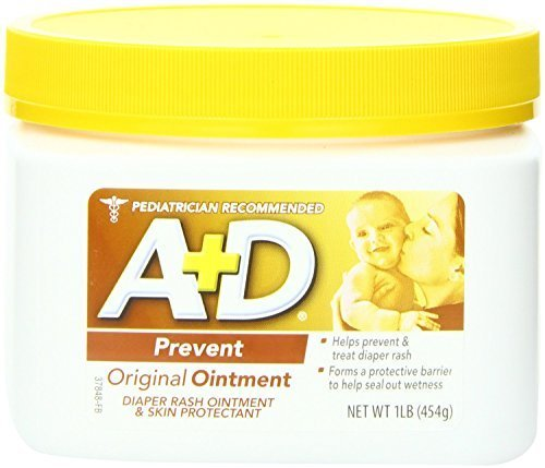 UPC 741533908219, A + D Original Ointment Jar, Diaper Rash and All-Purpose Skincare Formula - 1 lb (Pack of 2)