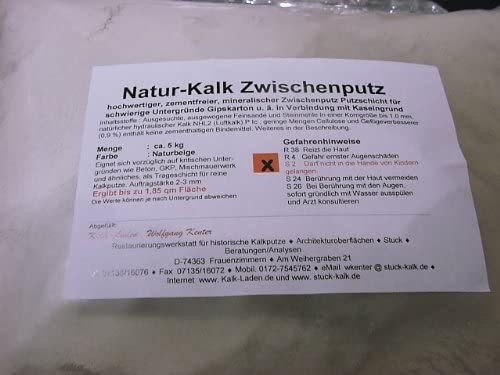 Natur-Kalk/_Zwischenputz 4,5 kg