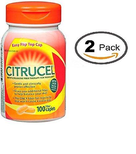Citrucel Smartfiber Caplets - 100 ct, Pack of 2 ()