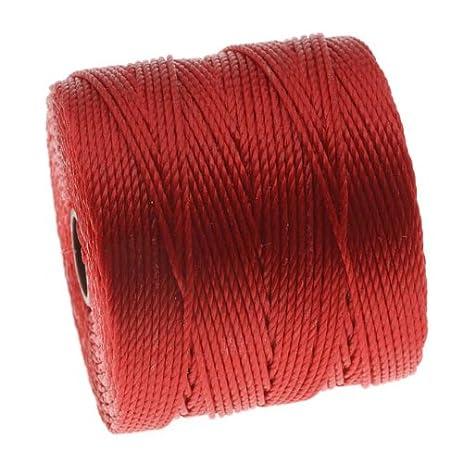 Amazon.com: BeadSmith Super-Lon Cord - Size #18 Twisted Nylon ... on pulley box, steel box, stone box, coil box, nut box, spin box, button box, collar box, key box, frame box, pallet box, tie box, pin box, bobbin box, drum box, yarn box, fishing leader box,