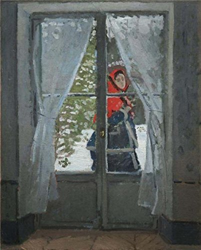 Falcon Chassis (Oil Painting 'The Red Kerchief, Portrait Of Mrs. Monet, 1878 By Claude Monet', 12 x 15 inch / 30 x 38 cm , on High Definition HD canvas prints, gifts for Bath Room, Home Theater And Nursery Decoration)