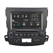Hkhonda for Mitsubishi Outlander Car DVD Player GPS Navigation 3g Wifi Sd Card with Maps