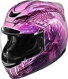 Icon Airmada Sweet Dreams Helmet Pink/Purple Large 0101-8007