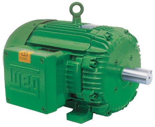 - WEG 12512XT3G445T NEMA Premium Explosion Proof Hazardous Location Electric Motor, 125 HP, 3-Phase, 1185 rpm, 460 V, 60 Hz, Frame 444/5T