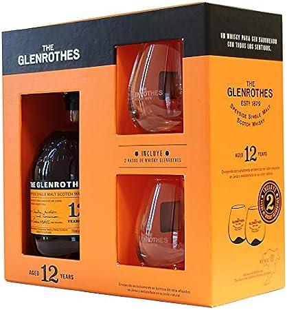 Glenrothes, 12 + 2 Vasos, 700ml