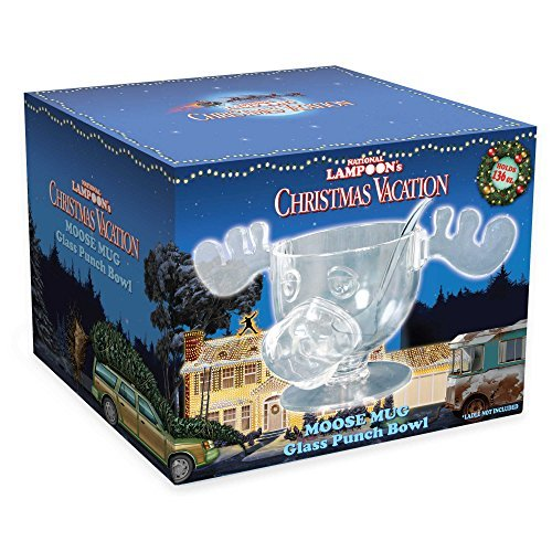 ICUP National Lampoon's Christmas Vacation Moose Punch Bowl by ICUP by ICUP