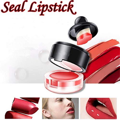 Seal facile C timbro indossare Cosmetics da Blue rossetti rossetto balsamo per D Lazy blu di AiBarle labbra le Shape rossetti aPqda6w