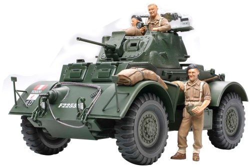 Tamiya 89770 British Armored Car Staghound Mk.I 1:35 Scale Plastic Model Kit - Requires Assembly (Best British Cars Ever)