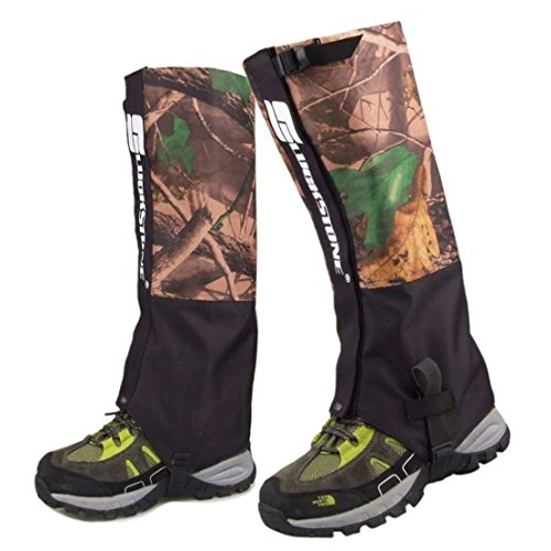 Mmei Pair of Camouflage Waterproof Gaiters Legging for - Camouflage Leg Gaiters