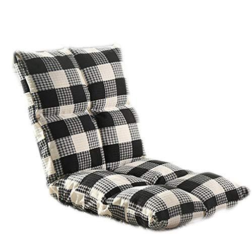 怠惰なソファ畳折りたたみシングル小型ソファベッドコンピュータチェアドミトリーベイウィンドウチェア B07SW23Q9Q Black
