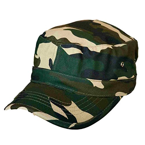 Trendy Military Fitted Cap - Forest Camo at Amazon Men s Clothing store  1ab0d985e1af