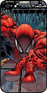 Spiderman-Drawing- Hard Black Plastic Snap - On Case -Apple Iphone 5C ONLY- Great Quality!