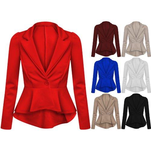 Flirty Wardrobe Blazer court p Blazer Flirty Wardrobe court qqFr1d5x