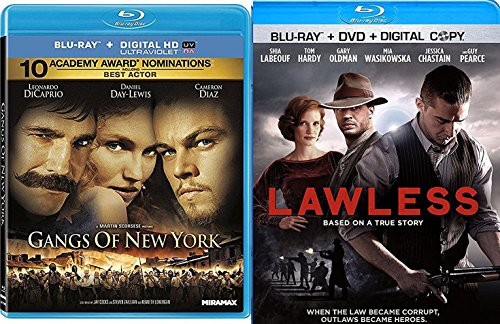 Lawless + Gangs of New York Action Crime Set Double Feature