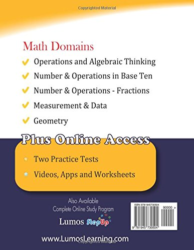 Florida standards assessments prep 5th grade math practice workbook florida standards assessments prep 5th grade math practice workbook and full length online assessments fsa study guide lumos learning 9781945730504 fandeluxe Choice Image