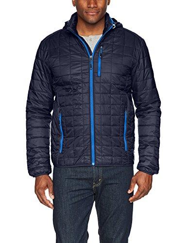 Weather Coat Down Mens Buck Alternative amp; Navy Alternative Rainer Primaloft Sleeve Down Dark Jacket Long Resistant Cutter Yp6twqw