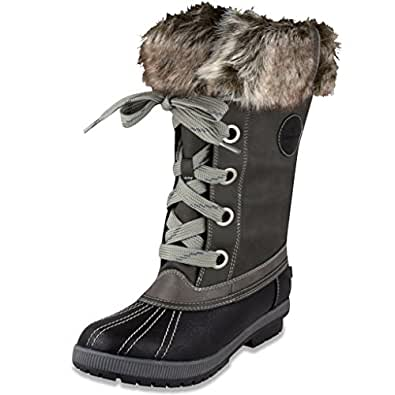 Amazon.com | London Fog Womens Melton Cold Weather