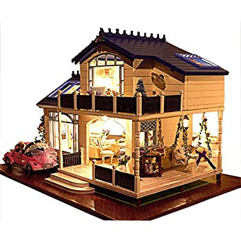 Rylai Wooden Handmade Dollhouse Miniature Diy