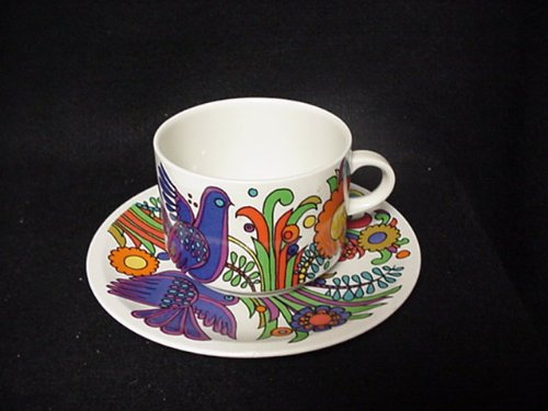 VILLEROY & BOCH CUP/SAUCER ACAPULCO CUP 2-1/4, SAUCER 6