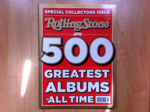 Rolling Stones-Special Collectors Issue-The 500 Greatest Albums of All Time-July 25, 2012 (500 Albums Rolling Greatest Stone)