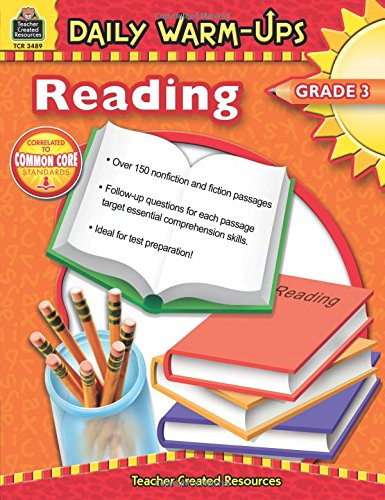 Pdf Teaching Daily Warm-Ups: Reading, Grade 3