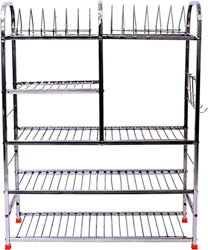 Buy Extenso 31 Inch Wall Mount Kitchen Dish Rack Stainless Steel Kitchen Rack Silver Online At Low Prices In India Amazon In