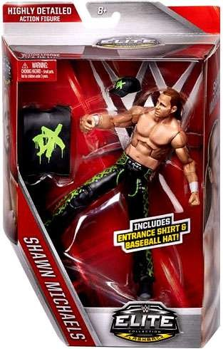 WWE, Elite Collection Flashback, Shawn Michaels [DX] Exclusive Action Figure by WWE