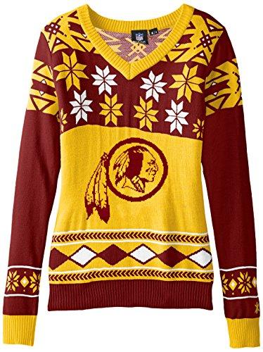 san francisco cf3f4 88ffa Washington Redskins Ugly Christmas Sweaters