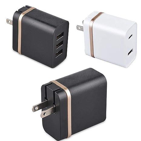 Amazon.com: Purcon - Adaptador de cargador rápido para ...