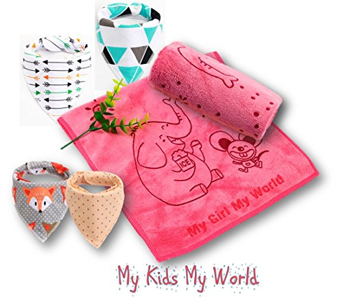 Bandana Drooling Teething Absorbent Hypoallergenic product image
