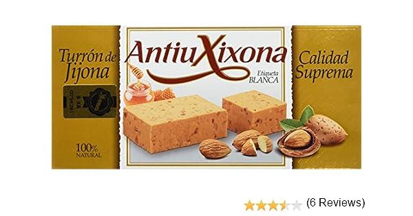 Antiu Xixona Turrón de Jijona - 300 g: Amazon.es: Alimentación y ...