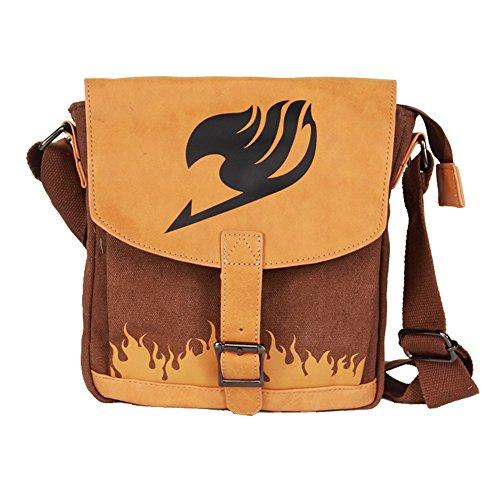 Fairy Purse (Siawasey Anime Fairy Tail Cosplay Messenger Bag Handbag Crossbody Shoulder Bag)