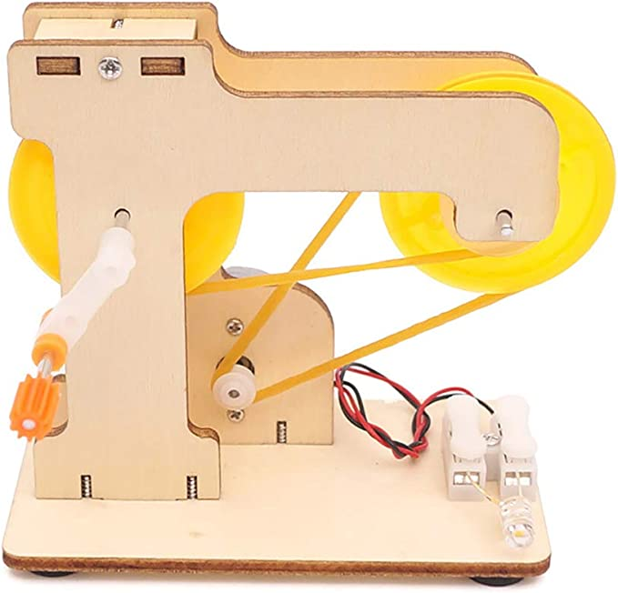 Kit de Juguetes para Hacer Bricolaje 0Miaxudh Incluye Manual de Montaje para la generaci/ón de Electricidad, Experimento f/ísico, Juguete pedag/ógico