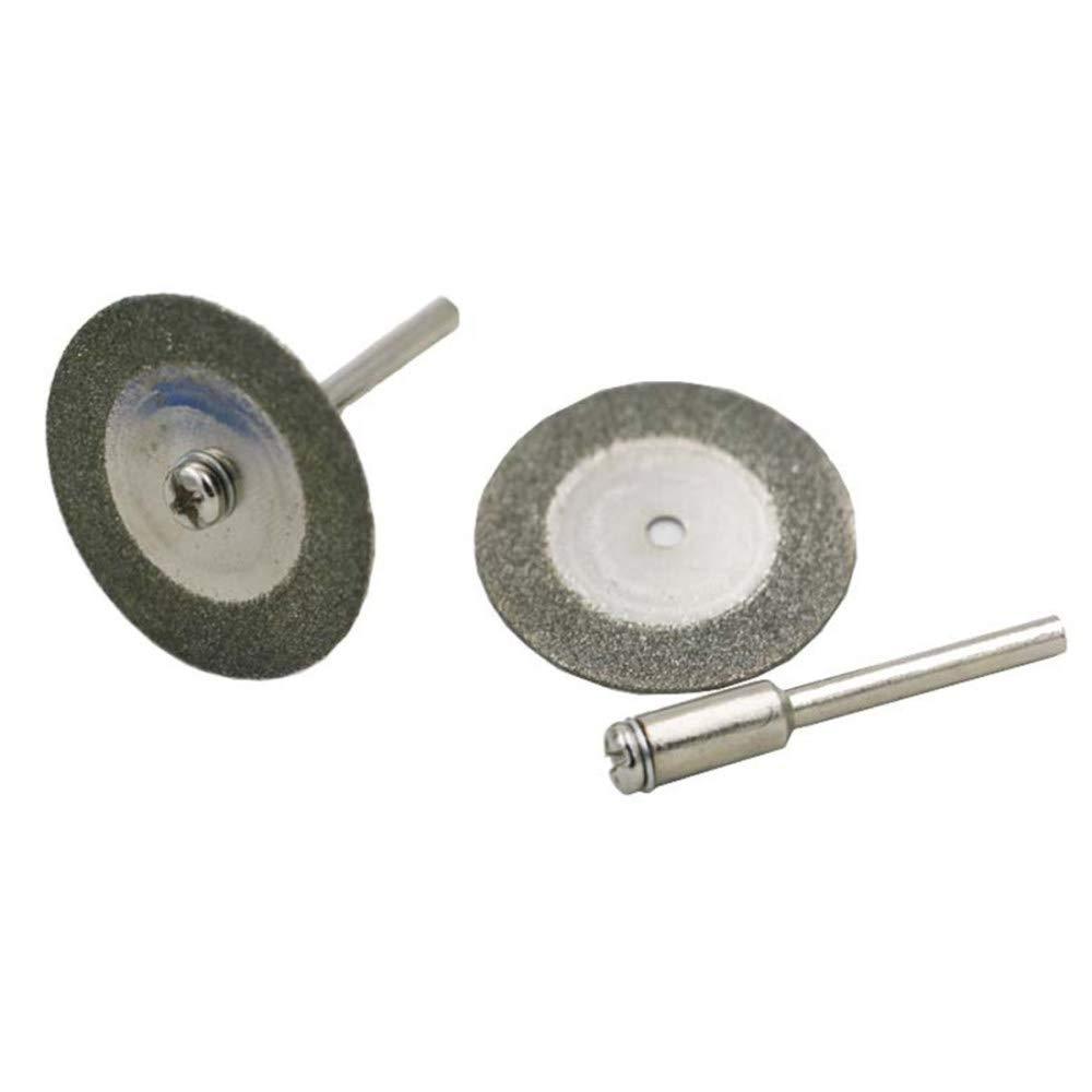 A30mm WHLDZS Schneids/äge 22//30/mm Kreiss/ägebl/ätter Trennscheiben///Diamanttrennscheiben///Spanndorn zum Trennen von 10 STK