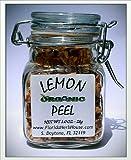 Lemon Peel 1.0 oz. (28g) - Organic Eco Friendly Gifts! - Eco-Spices!