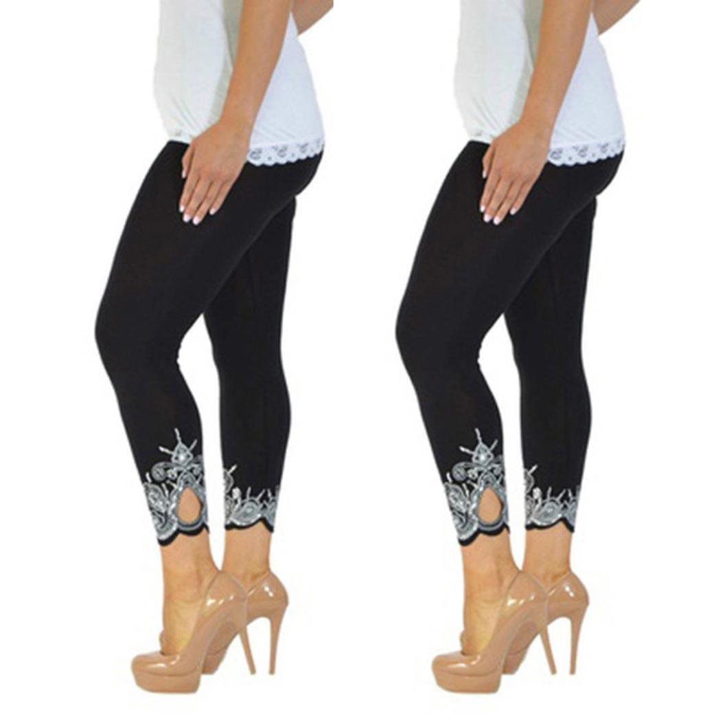 1cbe6d24bffca Online Cheap wholesale Womens Plus Size Leggings Rakkiss Women Sport Yoga  Print Workout Mid Waist Running Pants Fitness Ela Suppliers