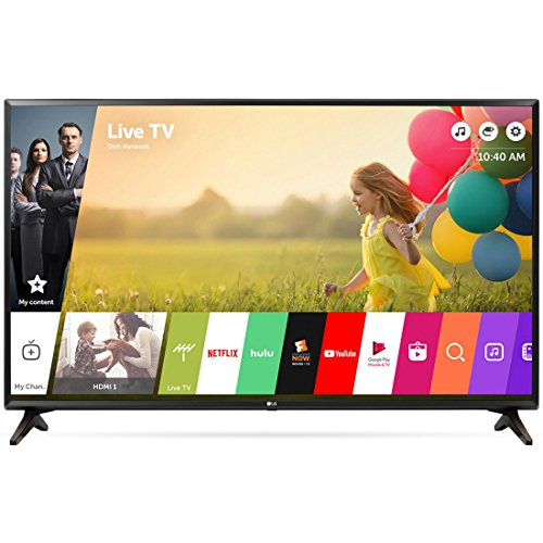 LG Electronics 49LJ550M 49-Inch Class Full HD 1080p Smart LED TV (2018 Model)