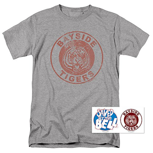 Saved by The Bell Bayside Tigers NBC T Shirt (Small) Athletic -